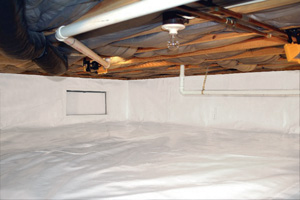 Crawl Space Repair After in Sanford